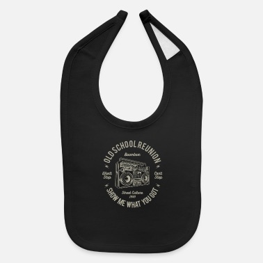 School Old School - Baby Bib