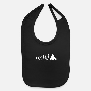 Mountains ATV Evolution - Baby Bib