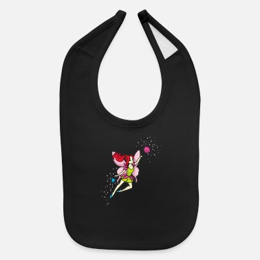 Cleaning Lady CLEANING FAIRY Lady Fairies Magic funny gift - Baby Bib