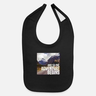 Mountains mountaineer mountaineering mountaineering hiking - Baby Bib