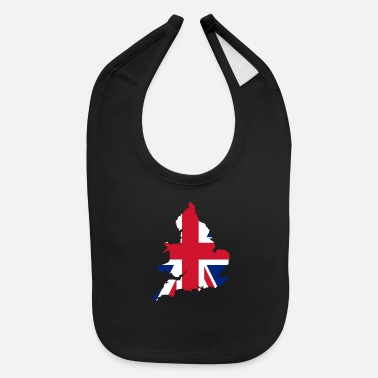 United Kingdom Country Flag England Great Britain - Baby Bib
