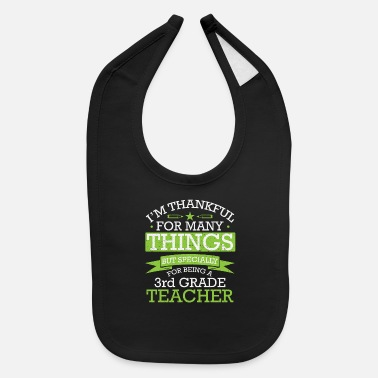 School Teacher / elementary school gift - Baby Bib