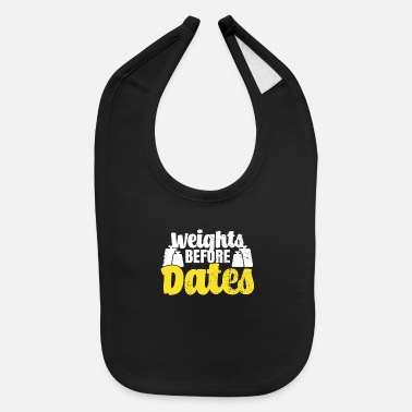 Date Gym Dating - Baby Bib