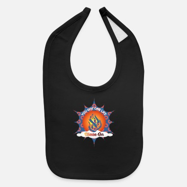 Phish Fishman Donut Blaze On Phish Apparel - Baby Bib