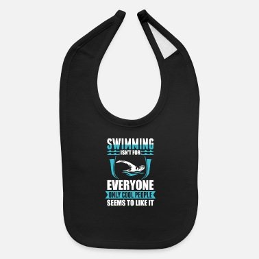 Swim Swim Swimming - Baby Bib