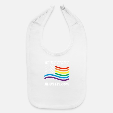 Miscellaneous LGBT people people rights politics gift USA - Baby Bib