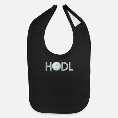 Dollar Crypto Currency Hodl Blockchain Gift - Baby Bib