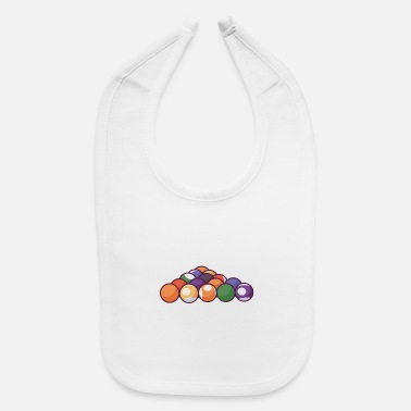 Nineball They call me a crazy snooker mom - Baby Bib