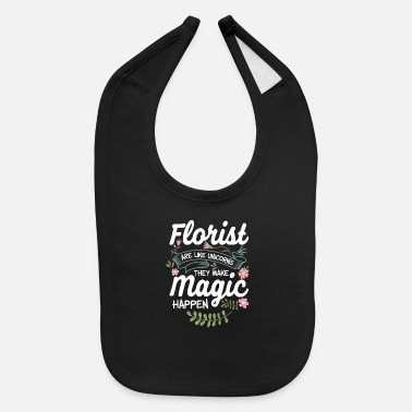 Magic Florist Sunflower - Baby Bib