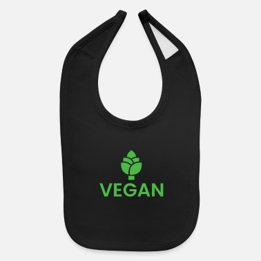 Planet Vegan Vegetarien - Baby Bib