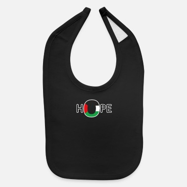 Occupation Hope For Freedom Of Palestine - Palestinian Flag - Baby Bib