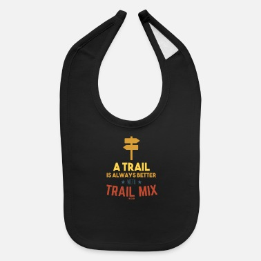 Dried Fruits Trail Mix Day Camping Hiking healthy - Baby Bib
