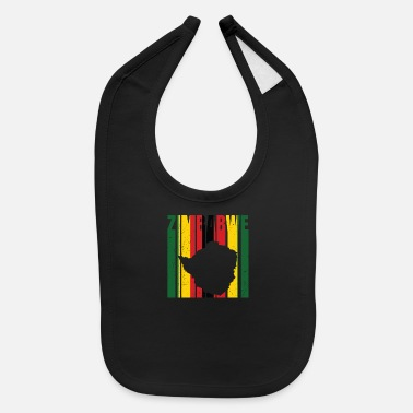 South Africa Zimbabwe Africa Shirt Gift Idea - Baby Bib