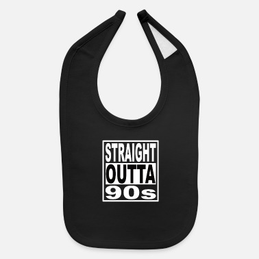 90s 90s 90s 90s Fashion 90s Party Nineties - Baby Bib