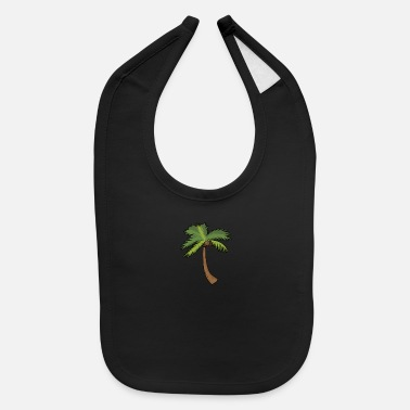 Dessert Palm Tree Shape Coconut - Baby Bib