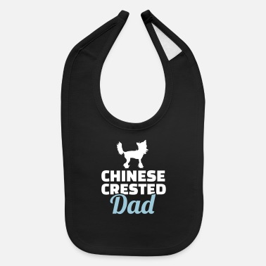 Chinese Crested Chinese Crested - Baby Bib