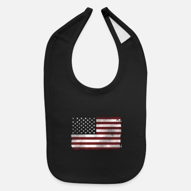 US Flag - Baby Bib