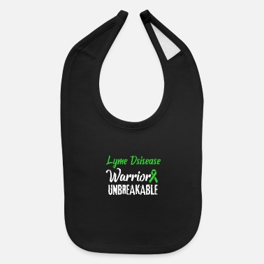 Lyme Disease Awareness Lyme Disease Awareness Warrior - Baby Bib