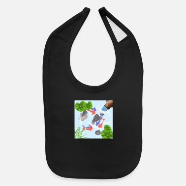 Pond Fish Pond - Baby Bib
