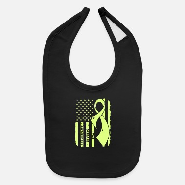Lyme Disease Awareness Lyme Disease Awareness - Baby Bib