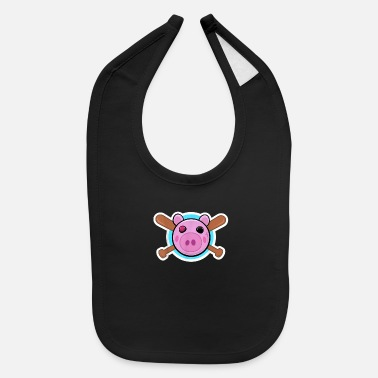 Retro Game Characters Pig Game character - Baby Bib