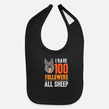 Australian Sheep Dog Australian Shepherd Sheep Dog Pasture - Baby Bib