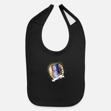 Questions artistically designed tarot card The Ruler - Baby Bib