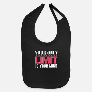 Positive Message motivational message - Baby Bib