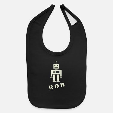 Ramseys Ramseys Robby The Robot - Baby Bib