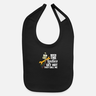 Technician HVAC Technician Electrician Air Conditioner Gift - Baby Bib