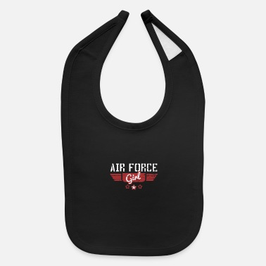 Airforce Airforce Soldier Profession Occupation job - Baby Bib