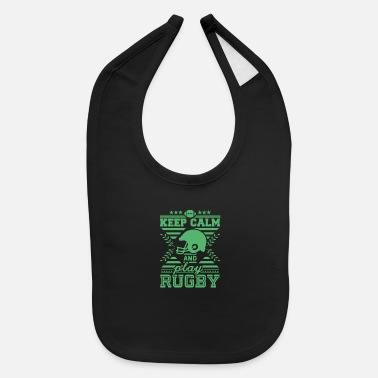 Rugby Game Ball Rugby Game Rugby Player Rugby Rugby Match - Baby Bib