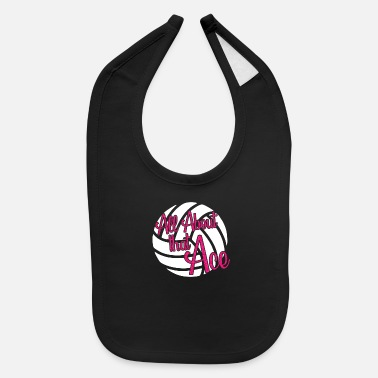 All About that Ace Volleyball - Baby Bib