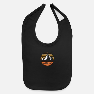 Rocky Mountains Rocky Mountain Rockies Travel Mountaineer Camping - Baby Bib