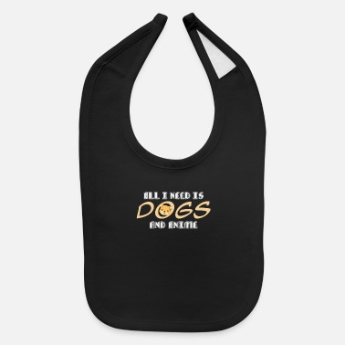 Japanimation Anime & Dog Quote | Japanimation Kawaii Dog Manga - Baby Bib
