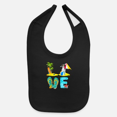 Summer Vacation Shirts German Shorthaired Pointer - Baby Bib