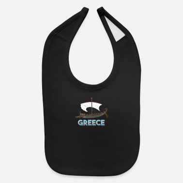 Ancient Ancient Greek ship - Ancient Greece - Baby Bib