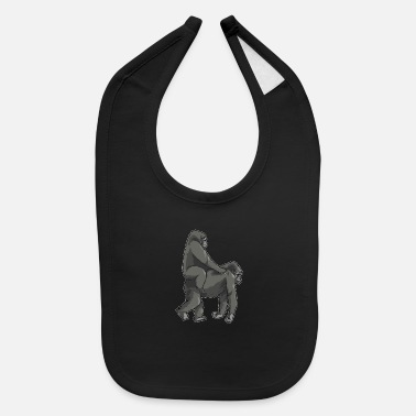 Monkey Meme Ride Wife Meme - Baby Bib