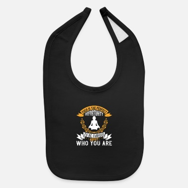 Mind Yoga Quote - Opportunity - Baby Bib
