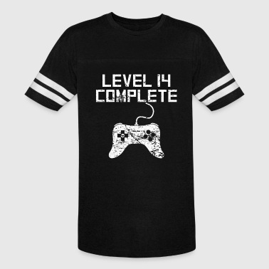 Level 14 Complete 14th Birthday - Vintage Sport T-Shirt