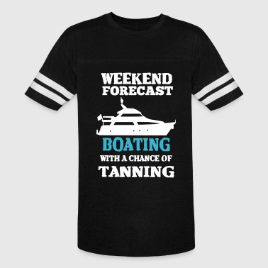 Weekend Forecast Boating Shirt - Vintage Sport T-Shirt