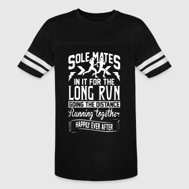 Solemates In It For The Long Run T-shirt - Vintage Sport T-Shirt