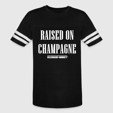 Billionaire Kids RAISED ON CHAMPAGNE - Vintage Sport T-Shirt
