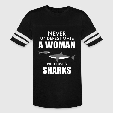 never underestimate a woman who loves fish ts shir - Vintage Sport T-Shirt