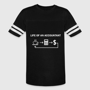 life of an accountan computer t shirts - Vintage Sport T-Shirt