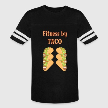 Fitness by Taco Six Pack Abs - Vintage Sport T-Shirt
