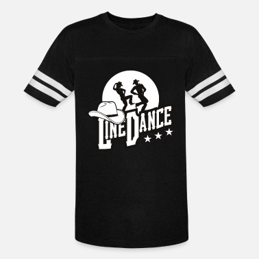 Country Dance Line Dance Cowboy Cowgirl dancing - Unisex Vintage Sport T-Shirt