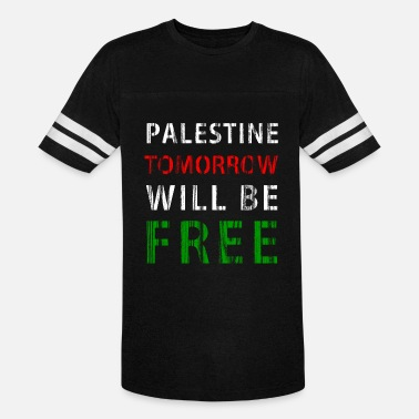 Arabic Freedom Palestine tomorrow will be free - Vintage Sport T-Shirt