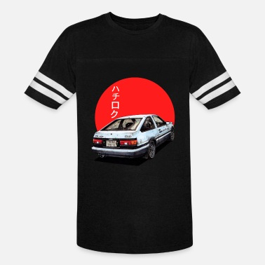 Initial-d AE86 Initial d Trueno Japan Movie - Vintage Sport T-Shirt