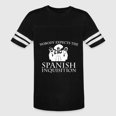 Inquisitive nobody expects the spanish inquisition camp t shir - Vintage Sport T-Shirt
